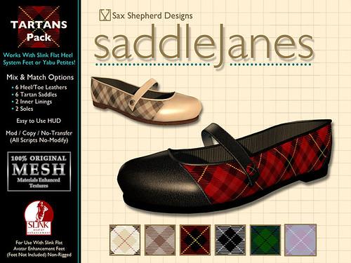 Saddle Janes Tartans