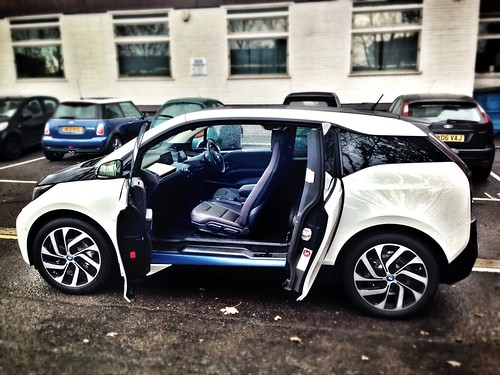 bmw i3 left side doors open car leasing made simple flickr. Black Bedroom Furniture Sets. Home Design Ideas