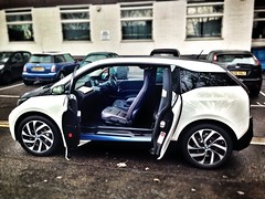 BMW i3 Left Side Doors Open Car Leasing Made Simple