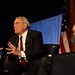 Dan Rather Emphasizing Point During the Kalb Report at the National Press Club by SamHardgrove