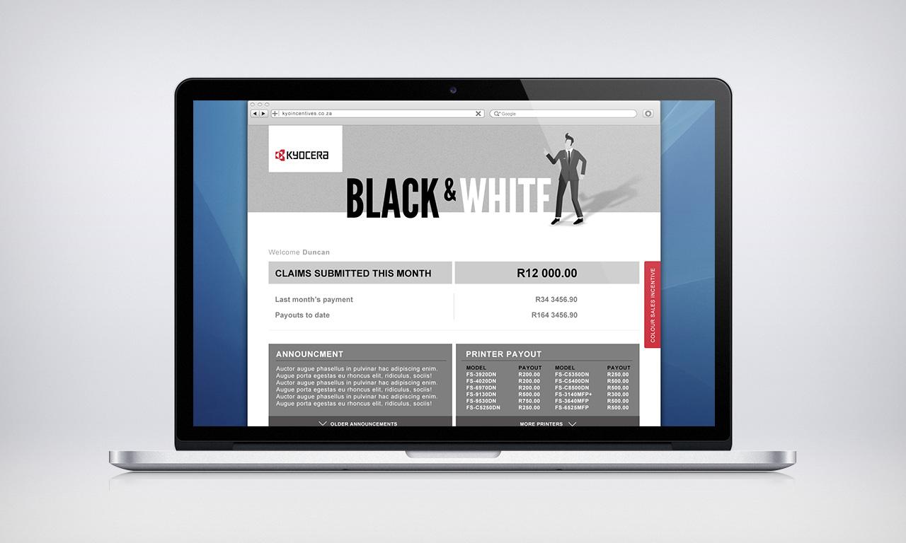 Black and white printer incentive