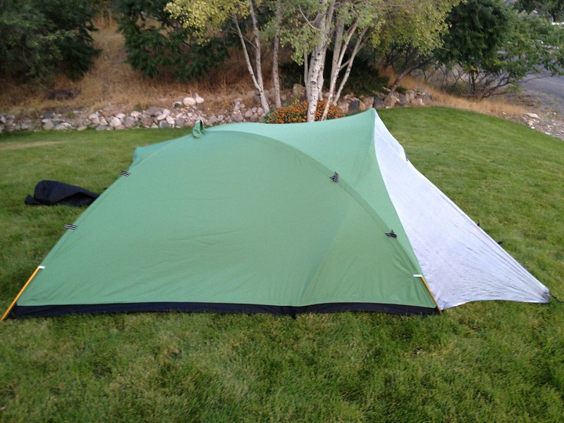 ... [Linked Image] & Crux Mountaineering tent - 24hourcampfire