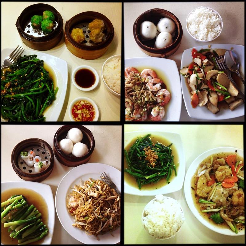 Chinese food, Bangkok