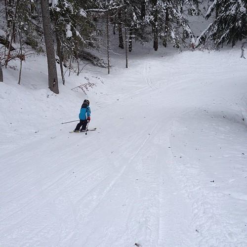 Ski avec mes boys