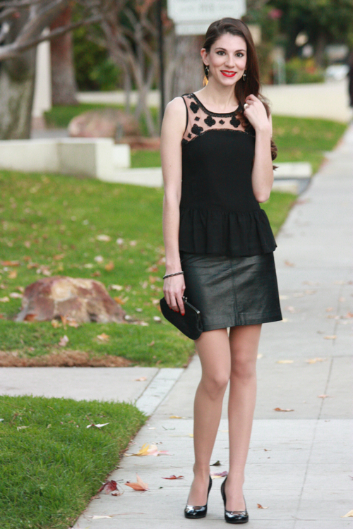 Peplum and Leather4
