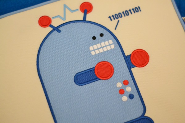 Robot Detail Beatrix iPad Cover