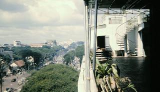 1966 Saigon from the Rex Hotel - Đường Lê Lợi nhìn từ Khách sạn REX