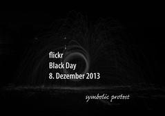 flickr Black Day