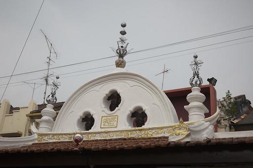 pintu masuk masjid kampung kling