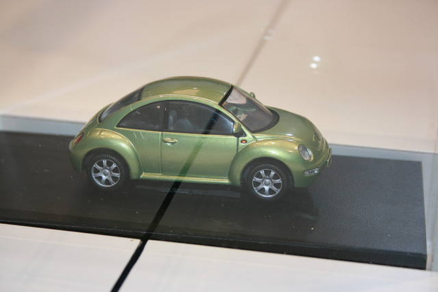 Mini VW Bug at the Chicago Auto Show