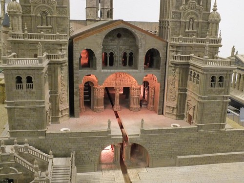 Catedral de Compostela, maqueta de Paco, León