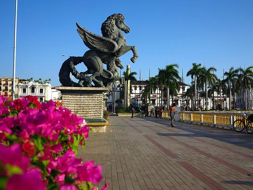 Muelle de Los Pegasos Cartagena Colombia