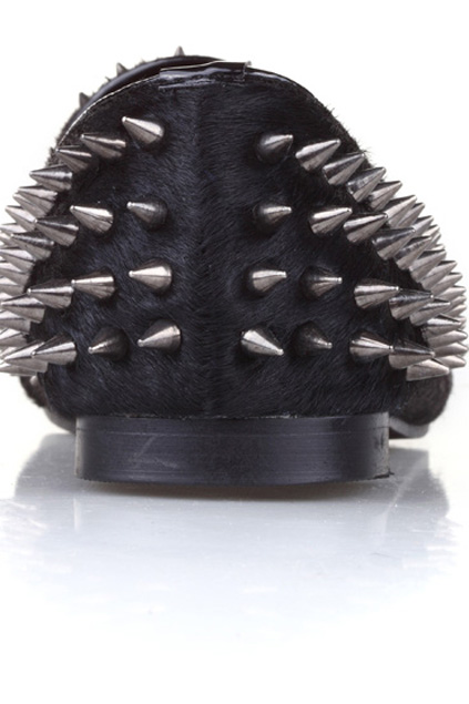 Spiked loafers