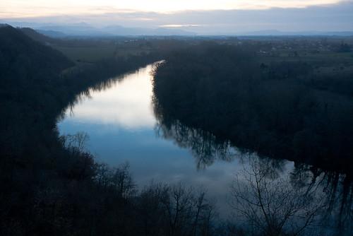 sunset river landscape rivière paysage garonne midipyrénées bintz rieuxvolvestre jeanchristophelacaze
