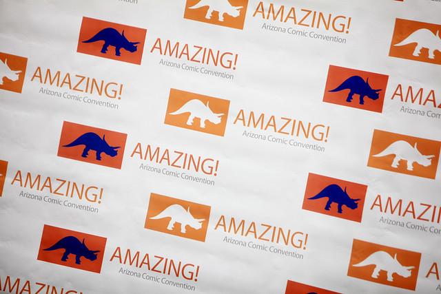 Amazing Arizona Comic Con sign from Flickr via Wylio
