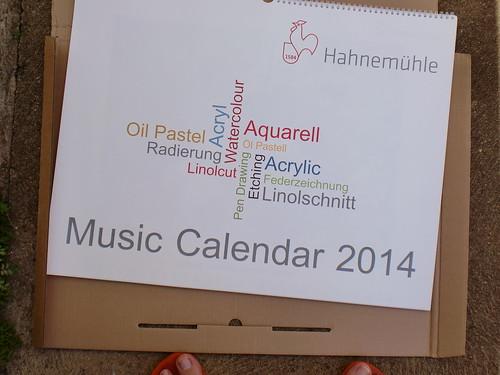 Hahnemuhle Calendar ''