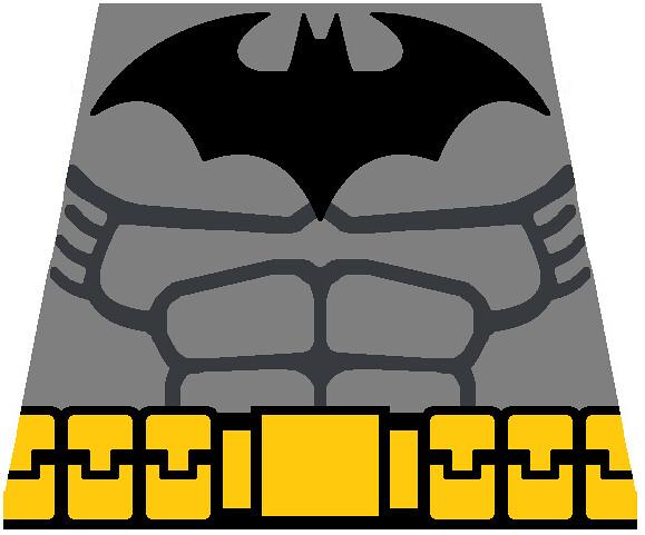 LEGO Batman Arkham City torso decal   Flickr - Photo Sharing!