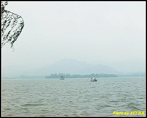 杭州 西湖 (其他景點) - 006 (古湧金門附近景點看西湖上的小瀛洲)