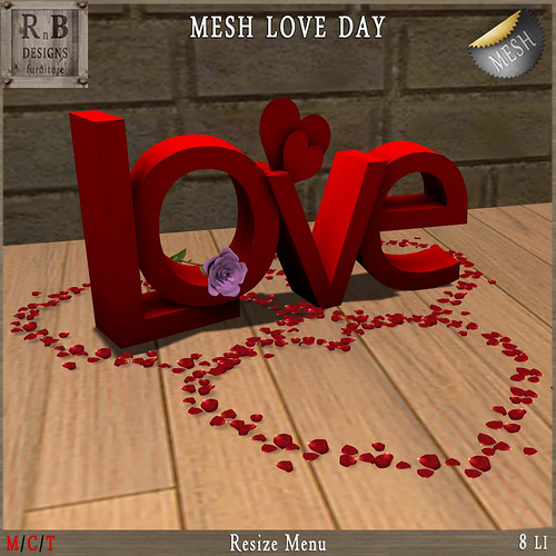 GIFT! *RnB* Mesh LOVE Day (resize) - GROUP GIFT
