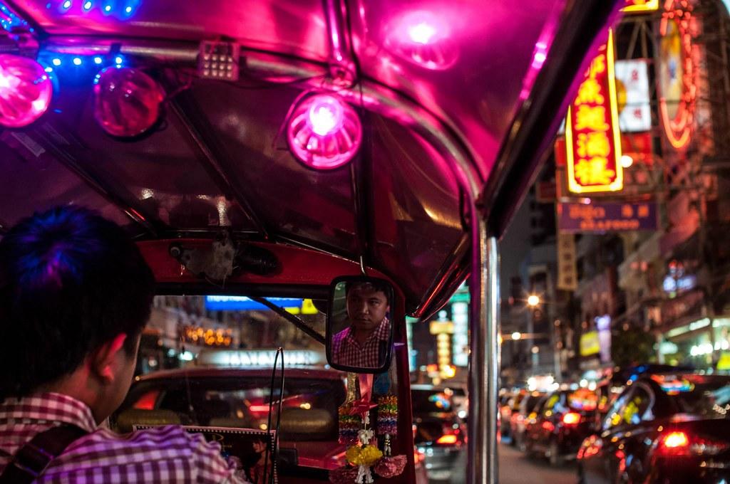 Chinatown Tuk Tuk driver