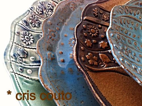 Pratos e....mais pratos.... by cris couto 73