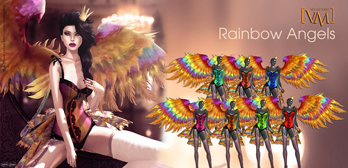 [VM]  VERO MODERO  Rainbow Angels All Colours