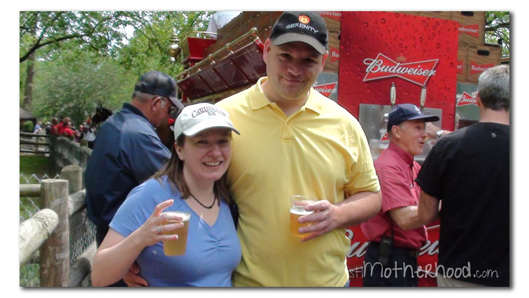 Have a free beer at Grant's Farm