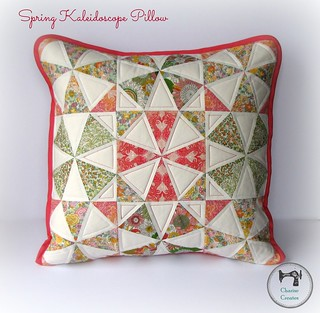 Spring Kaleidoscope Pillow