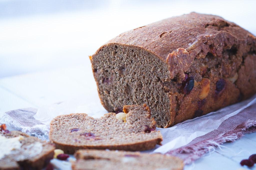 Cranberry & Macadamia Rye Loaf