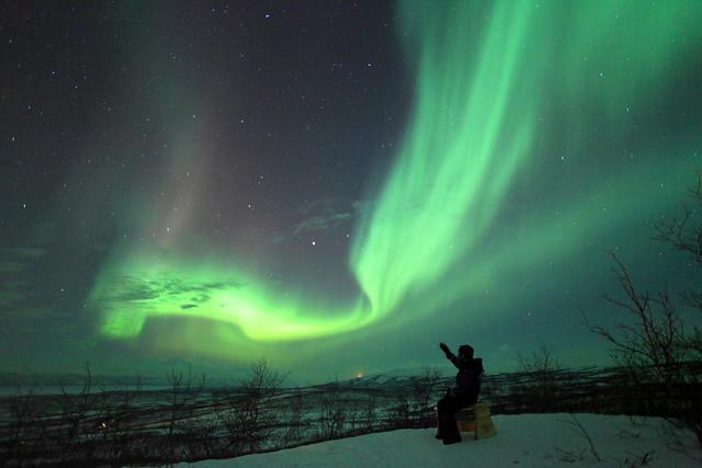 A view of aurora