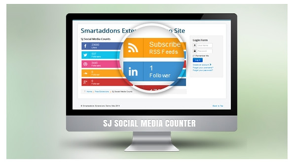 SJ Social Media Counter
