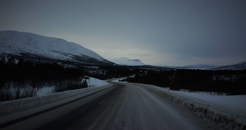 Road to Abisko