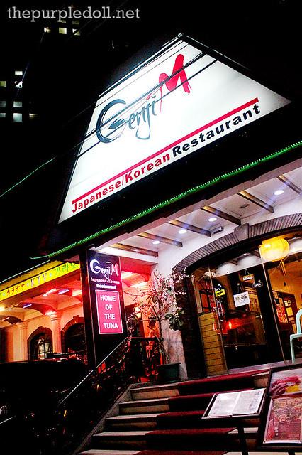Genji-M Japanese Korean Restaurant Kalayaan Ave Makati Ave Unlimited Sushi Sashimi