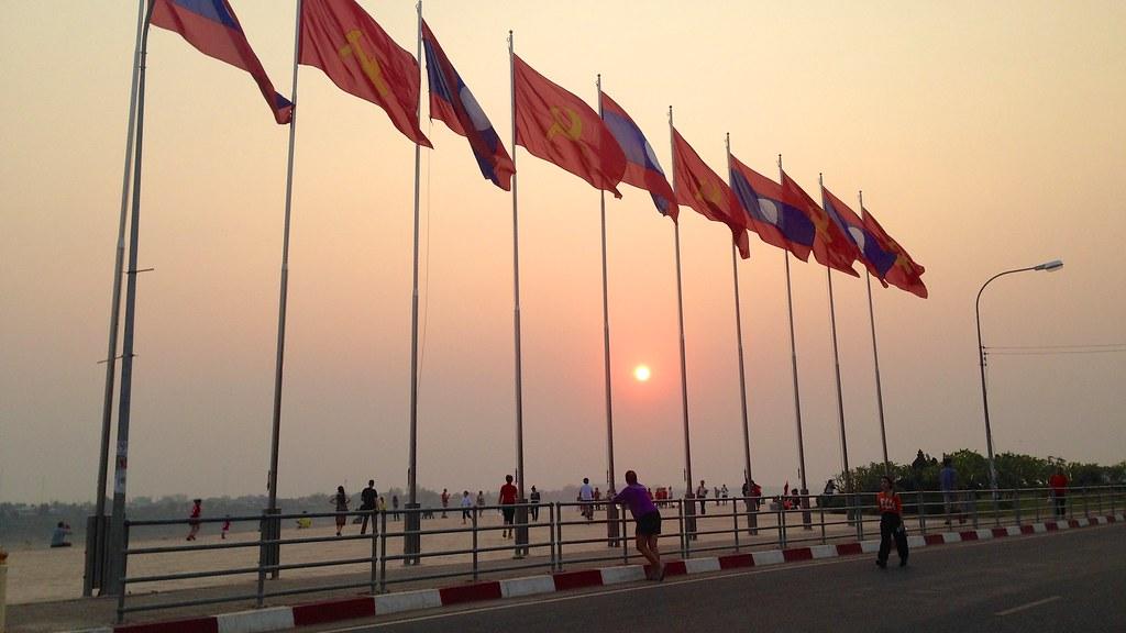 Vientiane, Laos. 5