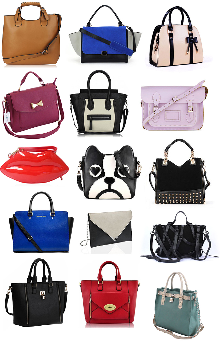 She Wears Fashion - UK Fashion blog: Ebay My Collections : S/S Bags