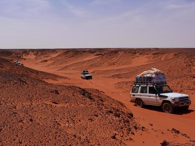 Entrada al Gilf Kebir (Desierto Líbico, Egipto)