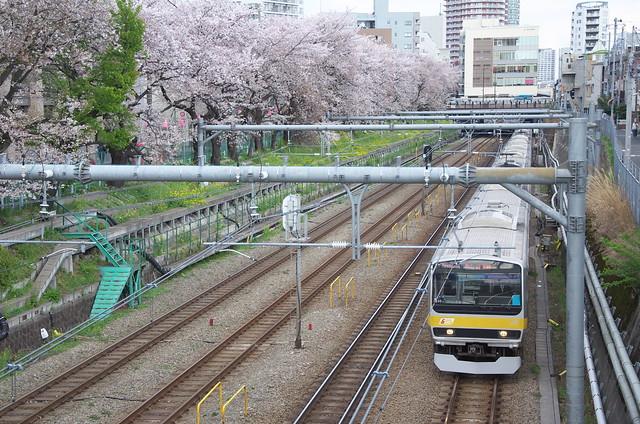 Tokyo Train Story 総武線 2014年4月5日