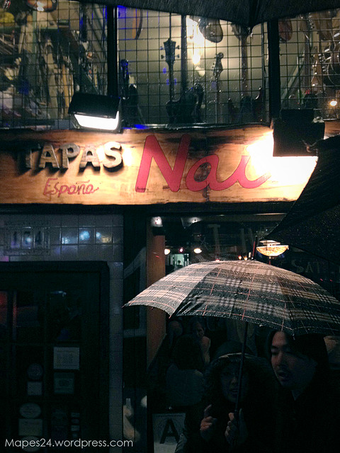 Nai Tapas Bar Entrance