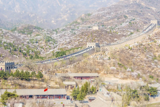 Tilt Shift Great Wall 4 2014