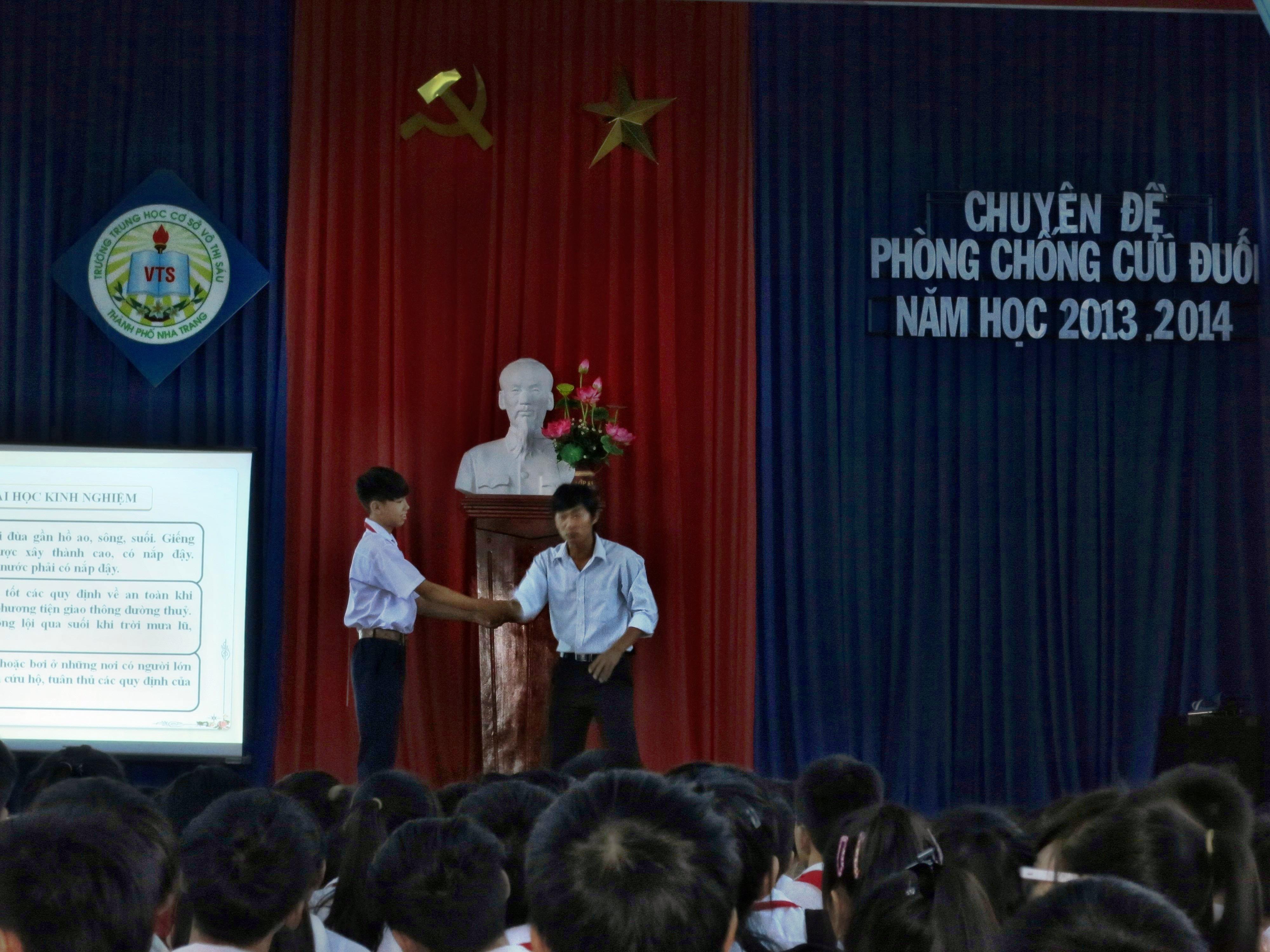 Chuyên đề phòng, chống cứu đuối cho học sinh THCS năm học 2013 - 2014