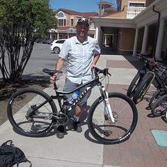 Tim S. w/ his new @konabikes Hei Hei. #mtb #cycling ready to shred
