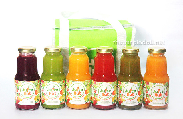 Juice Hut by Mia Sison Cold-Pressed Juices