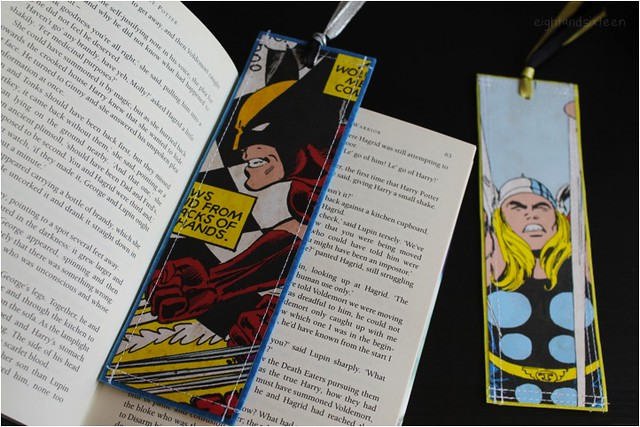 diy upcycled bookmarks 9 eight and sixteen