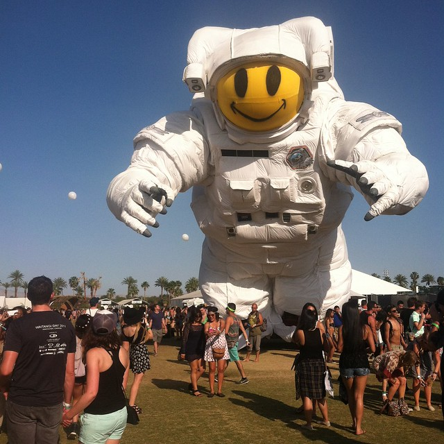 happy #Coachellaastronaut