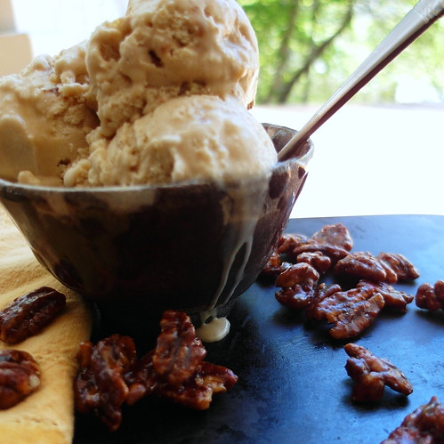 Maple Buttermilk Pecan Ice Cream