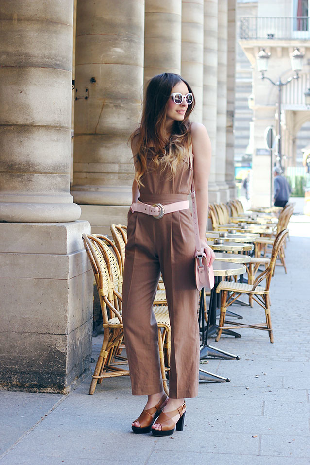 Seventies Jumpsuit Pastel Outfit What Olivia Did