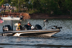 Warriors on the Water:  USARC Soldiers team with pro anglers