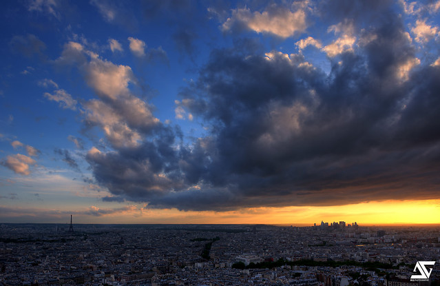 Paris @ Sunset