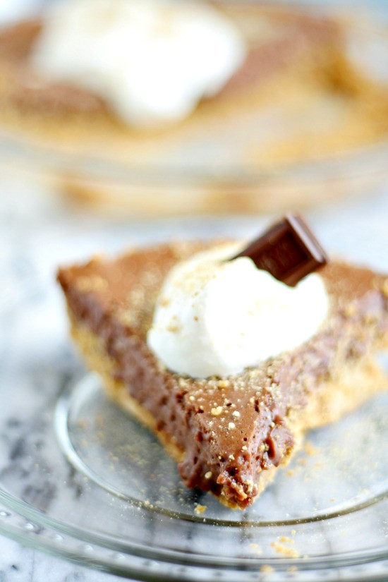 Hershey S'more Pie