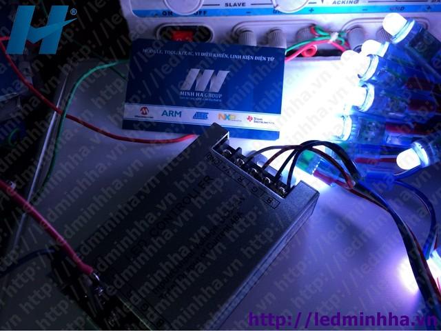 LED Đúc Phi 8 Đế 12 7 Mầu